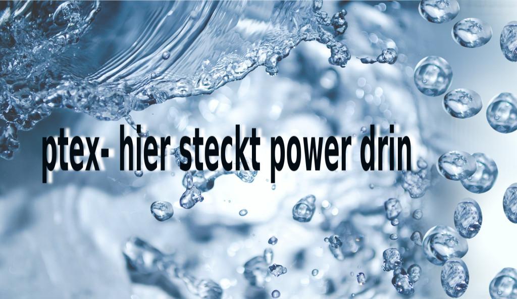 wirbelnde Wassertropfen-ptex power