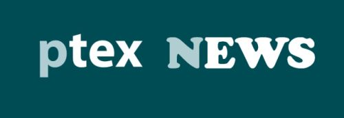 Text: ptex NEWS