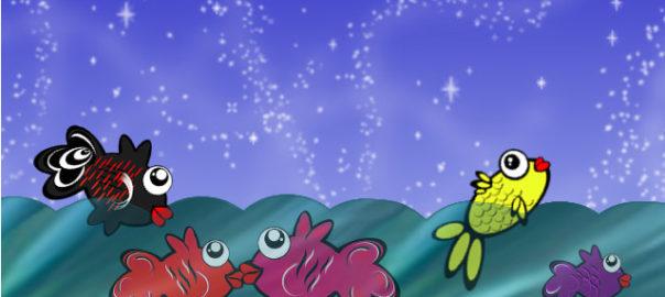 fröhliche Fische