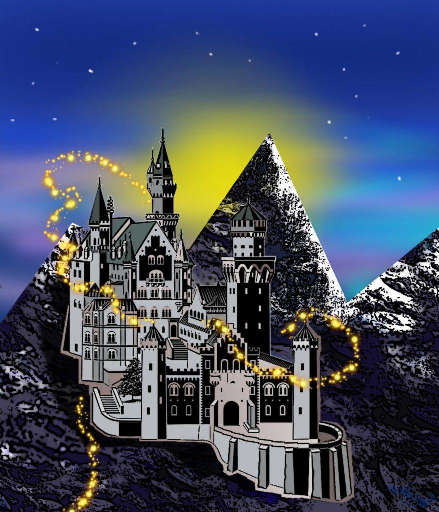 Schloss der goldenen Sonne